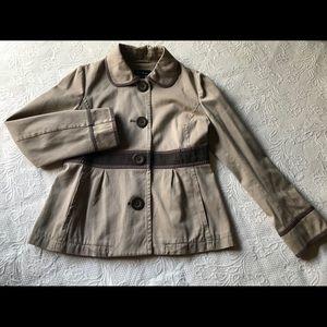 Boden Cropped Khaki Jacket